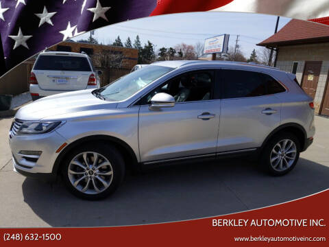 2015 Lincoln MKC for sale at Berkley Automotive Inc. in Berkley MI