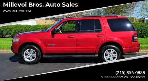 2007 Ford Explorer for sale at Millevoi Bros. Auto Sales in Philadelphia PA