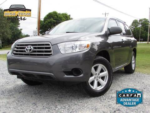 2010 Toyota Highlander for sale at High-Thom Motors in Thomasville NC
