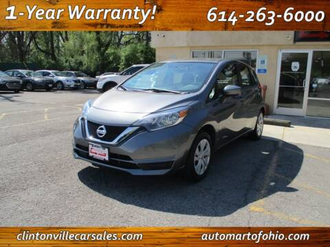 2017 Nissan Versa Note for sale at Clintonville Car Sales - AutoMart of Ohio in Columbus OH