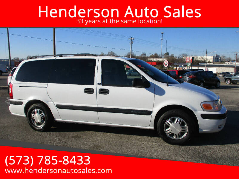 2004 Chevrolet Venture for sale at Henderson Auto Sales in Poplar Bluff MO