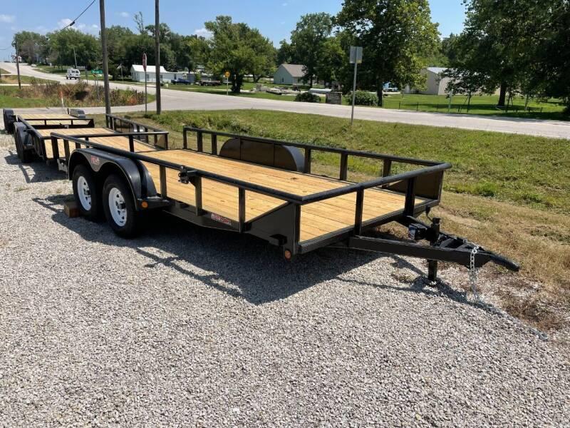 "2021 GRtrailers 82""x16' 7k Utility/ Hauler for sale at Bailey Auto in Pomona KS"