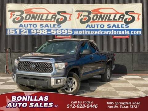 2019 Toyota Tundra for sale at Bonillas Auto Sales in Austin TX