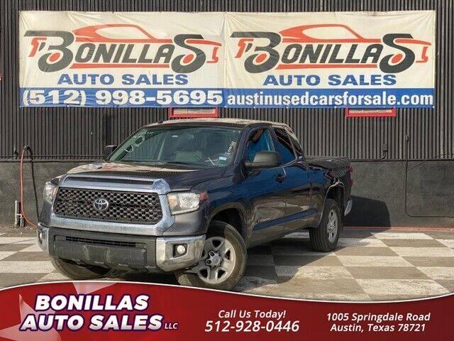 2019 Toyota Tundra for sale at Bonillas Auto Sales in Austin TX