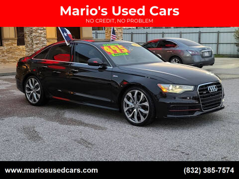 2015 Audi A6 for sale at Mario's Used Cars - Pasadena Location in Pasadena TX