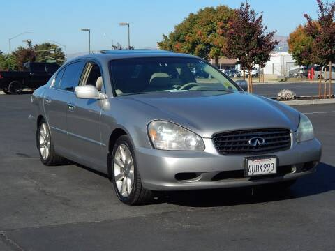 2002 Infiniti Q45 for sale at Gilroy Motorsports in Gilroy CA