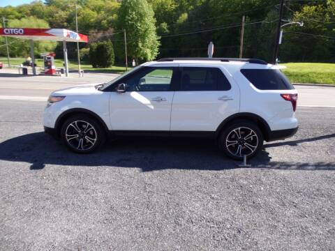 2014 Ford Explorer for sale at RJ McGlynn Auto Exchange in West Nanticoke PA