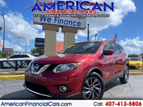 2016 Nissan Rogue for sale at American Financial Cars in Orlando FL