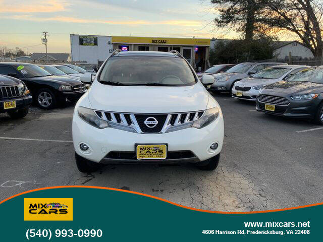 2009 Nissan Murano for sale at Mix Cars in Fredericksburg VA
