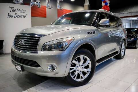 2012 Infiniti QX56 for sale at Quality Auto Center in Springfield NJ