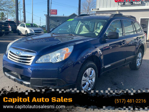 2010 Subaru Outback for sale at Capitol Auto Sales in Lansing MI