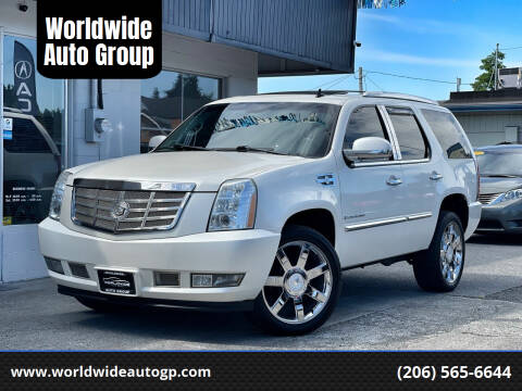 2008 Cadillac Escalade for sale at Worldwide Auto Group in Auburn WA