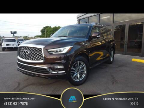 2019 Infiniti QX80 for sale at Automaxx in Tampa FL