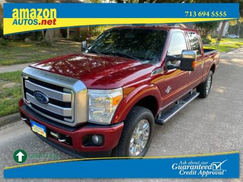 2015 Ford F-250 Super Duty for sale at Amazon Autos in Houston TX