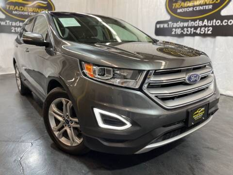 2017 Ford Edge for sale at TRADEWINDS MOTOR CENTER LLC in Cleveland OH