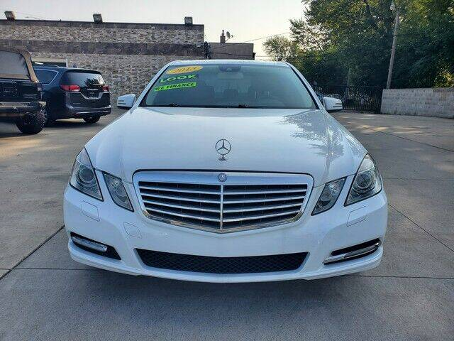 2013 Mercedes-Benz E-Class for sale at Great Ways Auto Finance in Redford MI