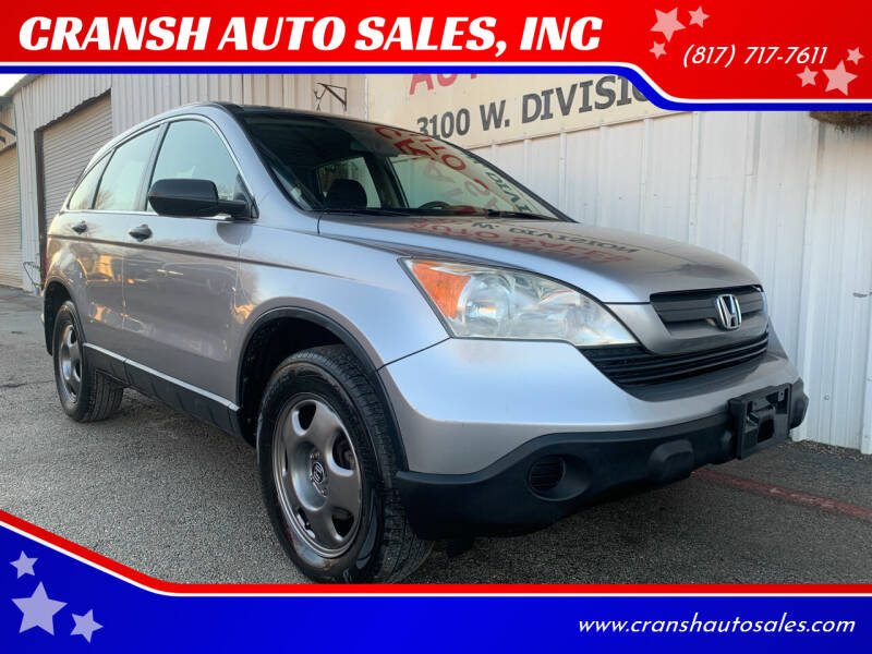2008 Honda CR-V for sale at CRANSH AUTO SALES, INC in Arlington TX