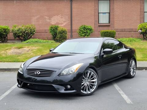 2011 Infiniti G37 Coupe for sale at SEATTLE FINEST MOTORS in Lynnwood WA