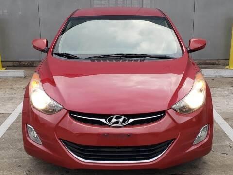 2013 Hyundai Elantra for sale at Delta Auto Alliance in Houston TX