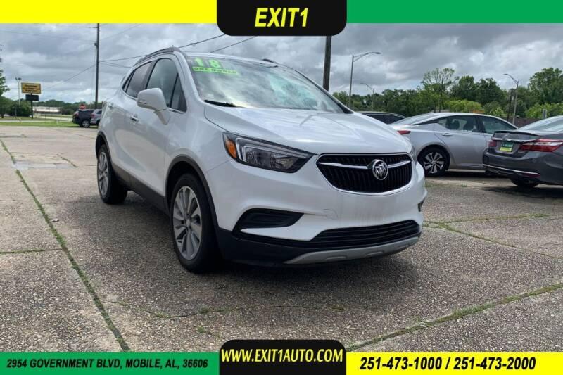 2018 Buick Encore for sale at Exit 1 Auto in Mobile AL