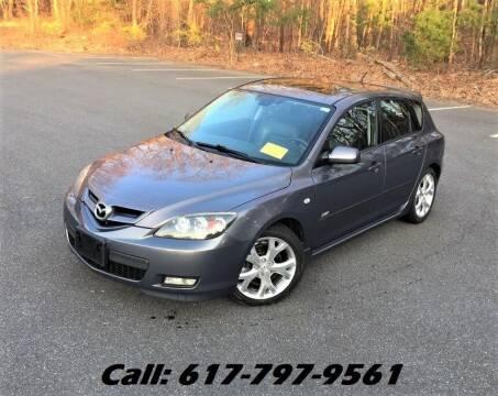 2007 Mazda MAZDA3 for sale at Wheeler Dealer Inc. in Acton MA