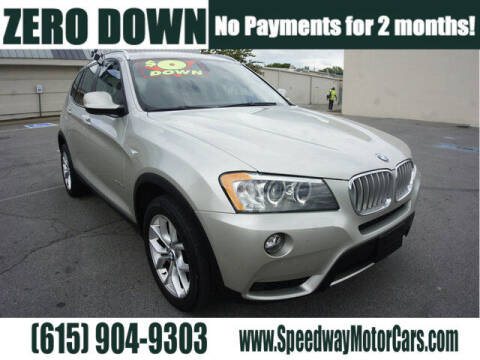 2012 BMW X3 for sale at Speedway Motors in Murfreesboro TN