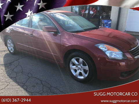 2009 Nissan Altima for sale at Sugg Motorcar Co in Boyertown PA