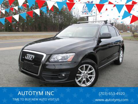 2010 Audi Q5 for sale at AUTOTYM INC in Fredericksburg VA