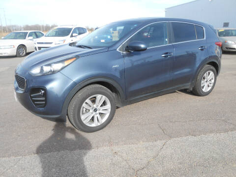 2017 Kia Sportage for sale at Salmon Automotive Inc. in Tracy MN