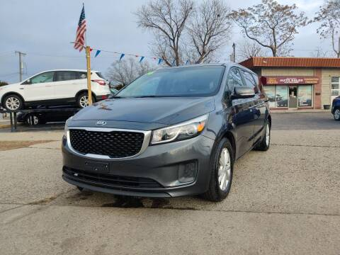 2016 Kia Sedona for sale at Lamarina Auto Sales in Dearborn Heights MI
