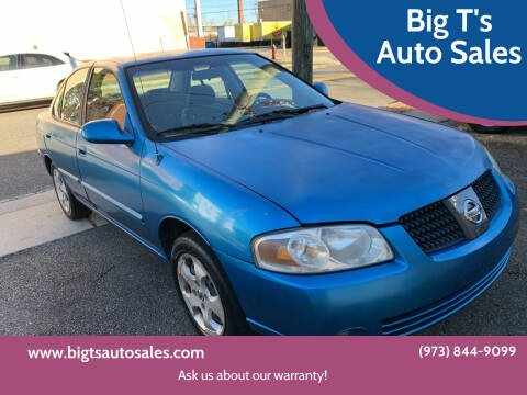2004 Nissan Sentra for sale at Big T's Auto Sales in Belleville NJ