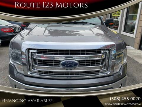 2014 Ford F-150 for sale at Route 123 Motors in Norton MA