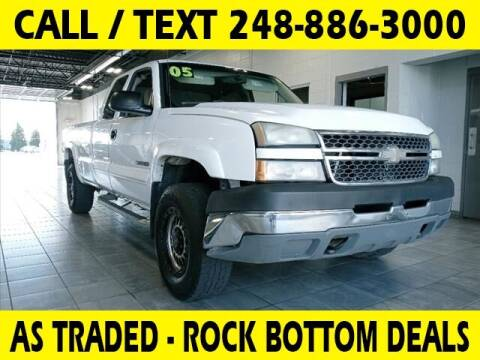 2005 Chevrolet Silverado 2500HD for sale at Lasco of Waterford in Waterford MI