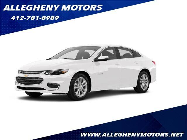 2018 Chevrolet Malibu for sale at Allegheny Motors in Pittsburgh PA