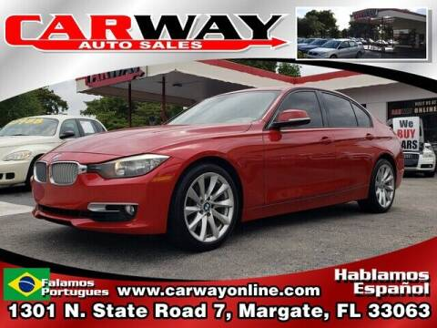 2013 BMW 3 Series for sale at CARWAY Auto Sales in Margate FL