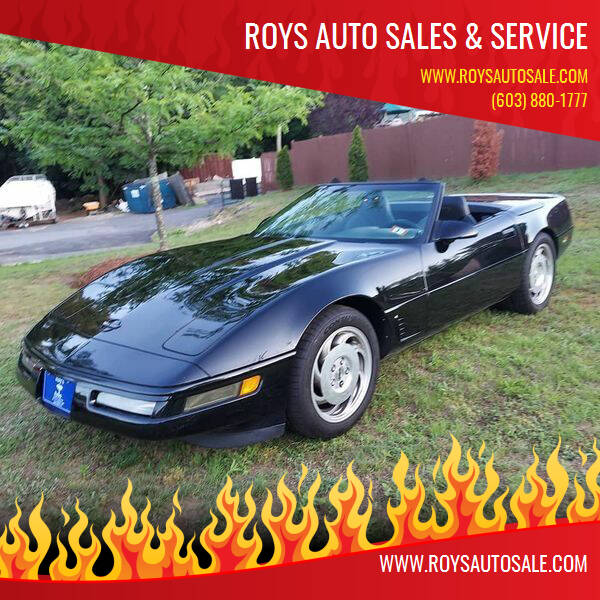 1995 Chevrolet Corvette for sale at Roys Auto Sales & Service in Hudson NH