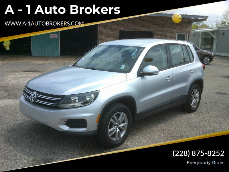 2013 Volkswagen Tiguan for sale at A - 1 Auto Brokers in Ocean Springs MS