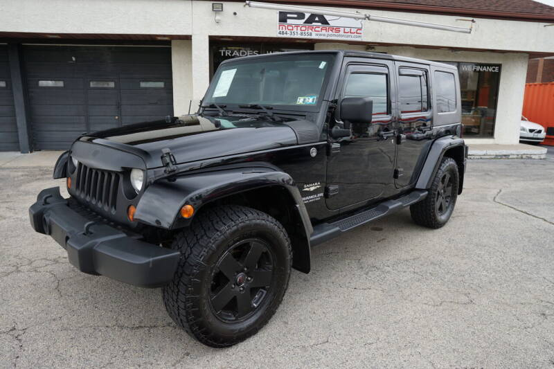 2010 Jeep Wrangler Unlimited for sale at PA Motorcars in Conshohocken PA