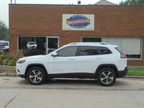 2019 Jeep Cherokee for sale at Eyler Auto Center Inc. in Rushville IL
