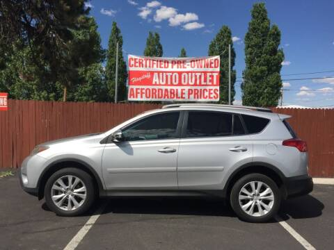 2013 Toyota RAV4 for sale at Flagstaff Auto Outlet in Flagstaff AZ