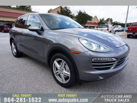 2012 Porsche Cayenne for sale at Auto Q Car and Truck Sales in Mauldin SC