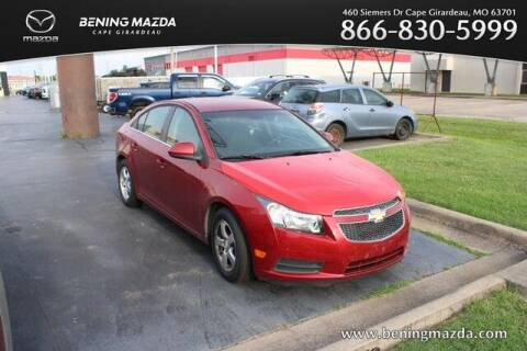 2012 Chevrolet Cruze for sale at Bening Mazda in Cape Girardeau MO