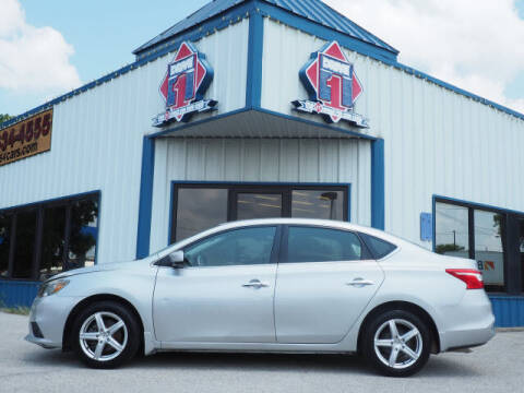 2016 Nissan Sentra for sale at DRIVE 1 OF KILLEEN in Killeen TX