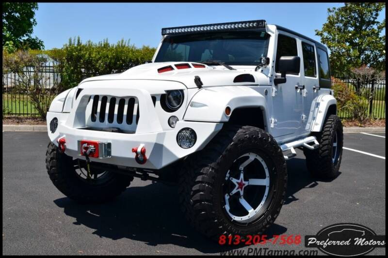 2015 Jeep Wrangler Unlimited for sale at PREFERRED MOTORS in Tampa FL