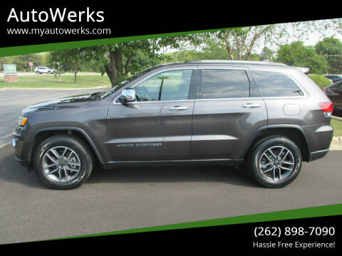 2020 Jeep Grand Cherokee for sale at AutoWerks in Sturtevant WI