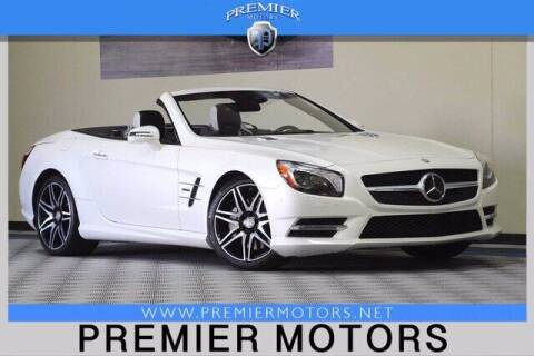 2015 Mercedes-Benz SL-Class for sale at Premier Motors in Hayward CA