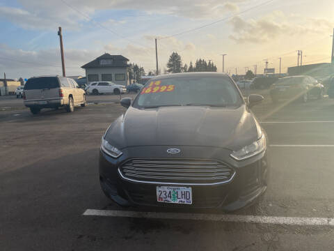 2014 Ford Fusion for sale at Low Price Auto and Truck Sales, LLC in Brooks OR