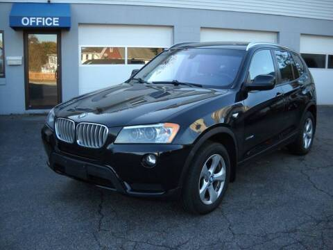 2012 BMW X3 for sale at Best Wheels Imports in Johnston RI