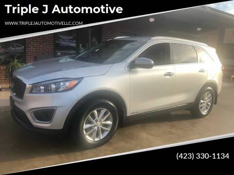 2016 Kia Sorento for sale at Triple J Automotive in Erwin TN