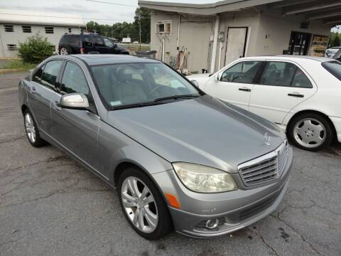 2008 Mercedes-Benz C-Class for sale at HAPPY TRAILS AUTO SALES LLC in Taylors SC